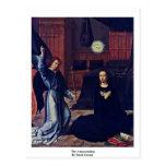 The Annunciation By David Gerard Postcard