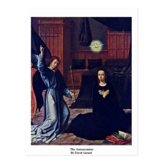 The Annunciation By David Gerard Post Cards