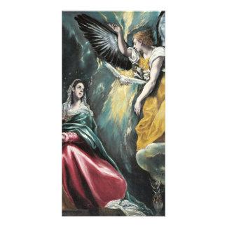 The Annunciation by El Greco Card