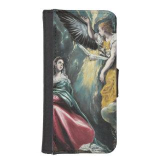 The Annunciation by El Greco iPhone SE/5/5s Wallet