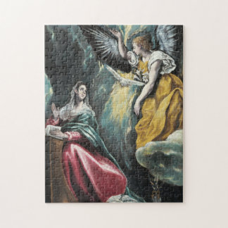 The Annunciation by El Greco Jigsaw Puzzle