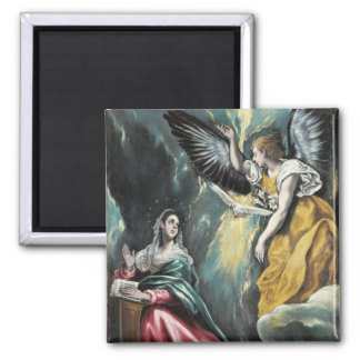 The Annunciation by El Greco Magnet