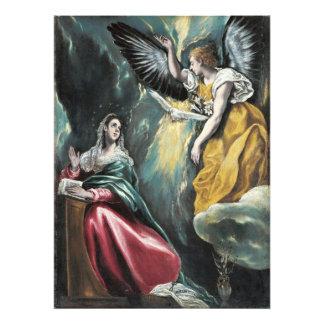 The Annunciation by El Greco Art Photo