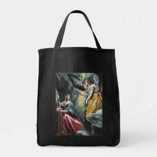 The Annunciation by El Greco Tote Bag