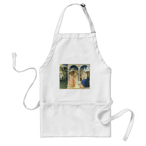 The Annunciation by Fra Angelico Apron