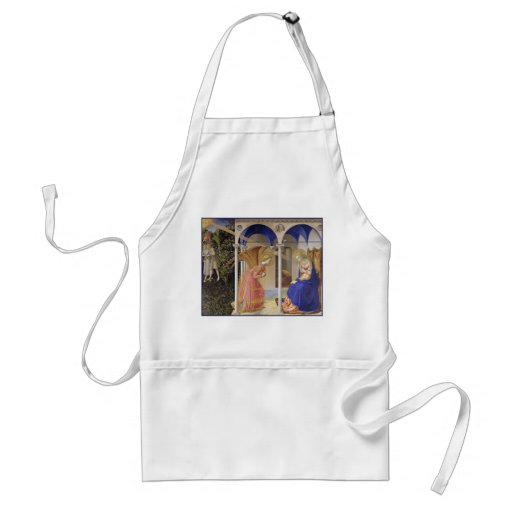 The Annunciation by Fra Angelico Aprons