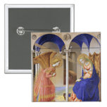 The Annunciation by Fra Angelico Buttons