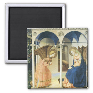 The Annunciation by Fra Angelico Magnet