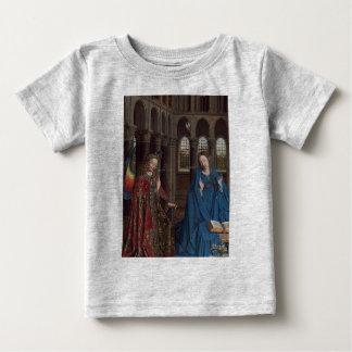 The Annunciation by Jan van Eyck Baby T-Shirt