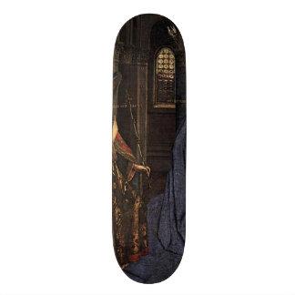 The Annunciation by Jan van Eyck Skateboard