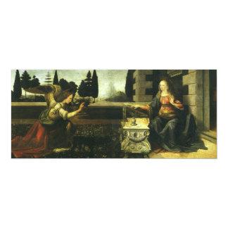 The Annunciation by Leonardo da Vinci Card