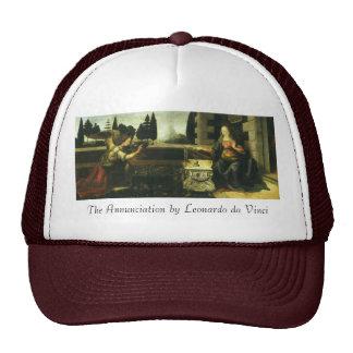 The Annunciation by Leonardo da Vinci Trucker Hat