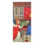 The Annunciation By Oberrheinischer Meister Um 141 Rack Card Design