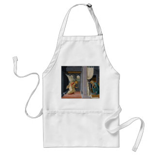 The Annunciation by Sandro Botticelli Adult Apron