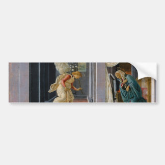 The Annunciation by Sandro Botticelli Bumper Sticker