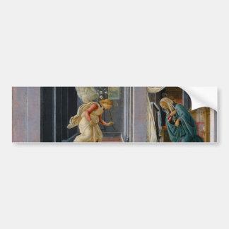 The Annunciation by Sandro Botticelli Bumper Sticker