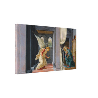 The Annunciation by Sandro Botticelli Canvas Print