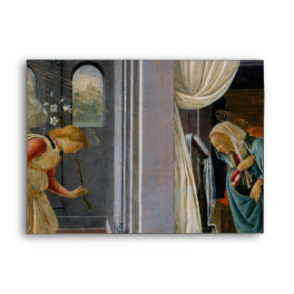 The Annunciation by Sandro Botticelli Envelope
