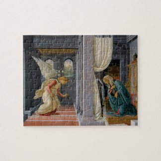 The Annunciation by Sandro Botticelli Jigsaw Puzzle