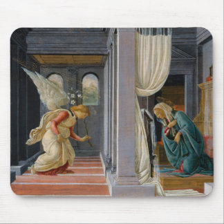 The Annunciation by Sandro Botticelli Mouse Pad