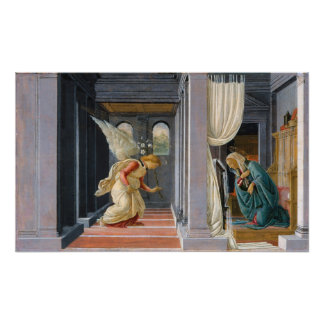 The Annunciation by Sandro Botticelli Photo