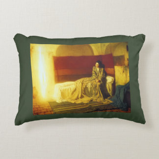 The Annunciation by Tanner Decorative Pillow