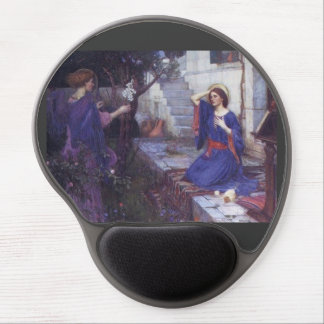 The Annunciation by Waterhouse Gel Mouse Pad