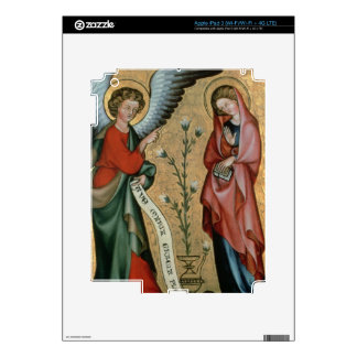 The Annunciation, c.1330 (oil on panel) iPad 3 Skin