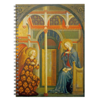 The Annunciation, c. 1423-24 Notebook