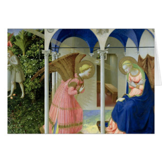 The Annunciation, c.1430-32 Greeting Card