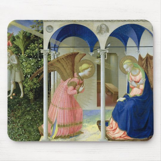 The Annunciation, c.1430-32 Mouse Pad