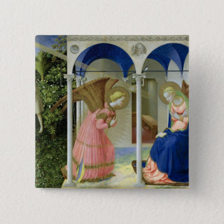 The Annunciation, c.1430-32 Pinback Button