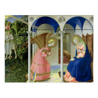 The Annunciation, c.1430-32 Postcard