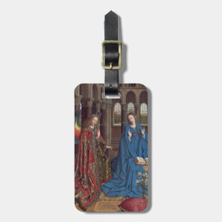 The Annunciation, c. 1434- 36 (oil on canvas) Bag Tag