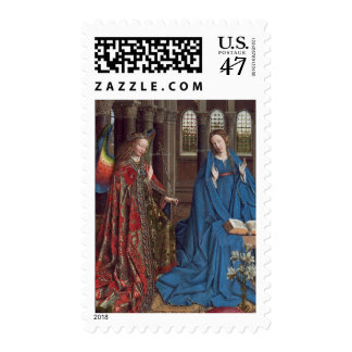The Annunciation, c. 1434- 36 (oil on canvas) Postage
