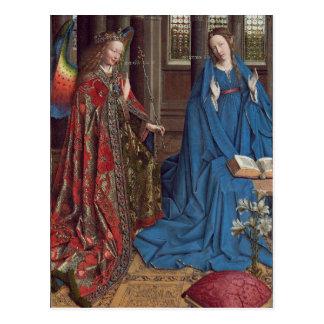 The Annunciation, c. 1434- 36 (oil on canvas) Postcard