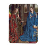 The Annunciation, c. 1434- 36 (oil on canvas) Rectangular Magnet