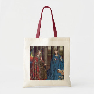 The Annunciation, c. 1434- 36 (oil on canvas) Tote Bag