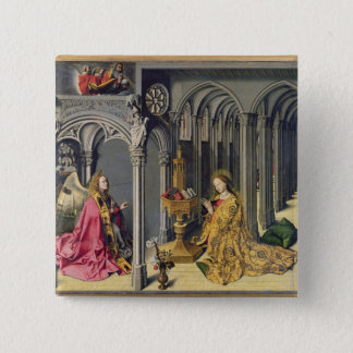 The Annunciation, c.1445 Button