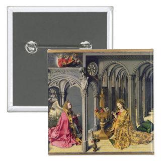 The Annunciation, c.1445 Button