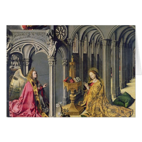 The Annunciation, c.1445 Card