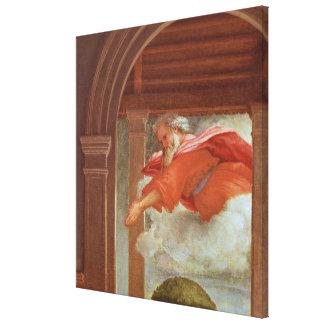The Annunciation, c.1534-35 Canvas Print