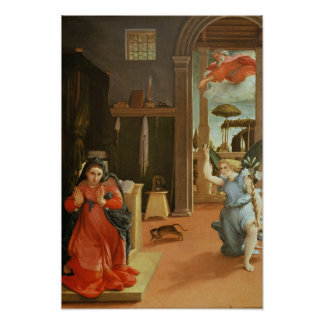 The Annunciation, c.1534-35 Poster