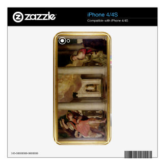 The Annunciation, c.1551-53 (oil on canvas) Decal For iPhone 4