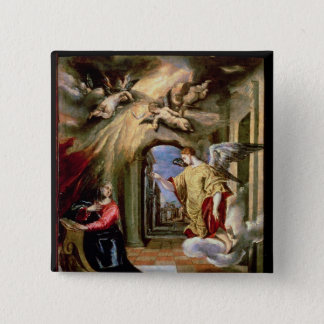 The Annunciation, c.1570-73 Button