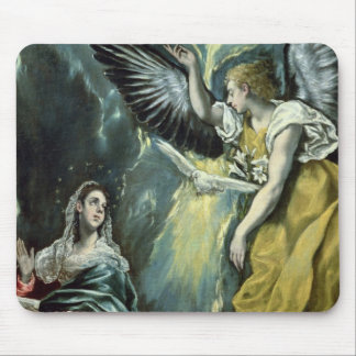 The Annunciation, c.1575 (oil on canvas) Mouse Pad
