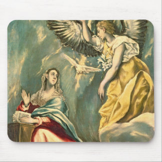 The Annunciation, c.1595-1600 Mouse Pad