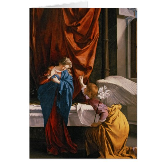 The Annunciation, c.1623 Card