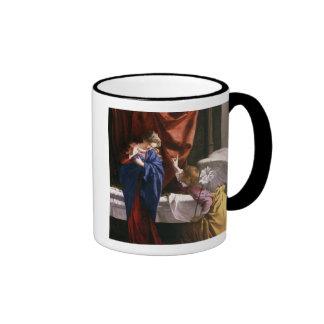 The Annunciation, c.1623 Ringer Coffee Mug