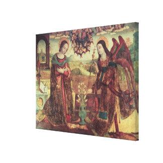The Annunciation Canvas Prints